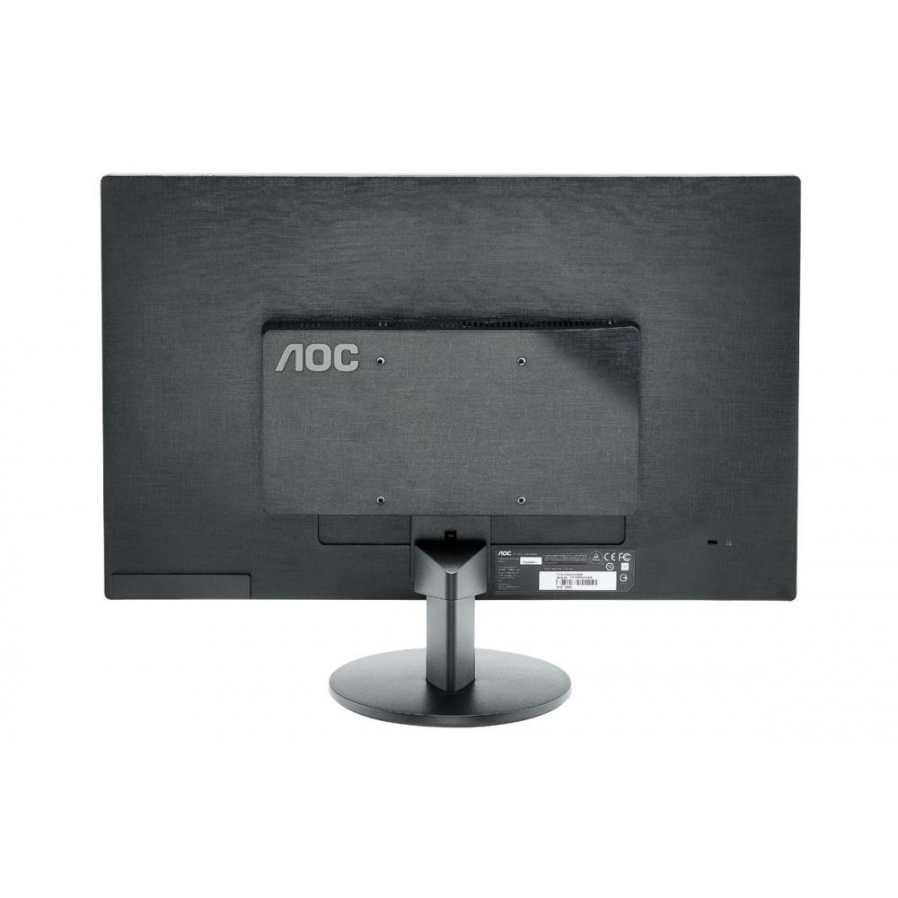 Ecran Moniteur LED 24 pouces AOC M2470Swh 16/9eme (5ms) VGA/HDMI,Informatique Réunion 974