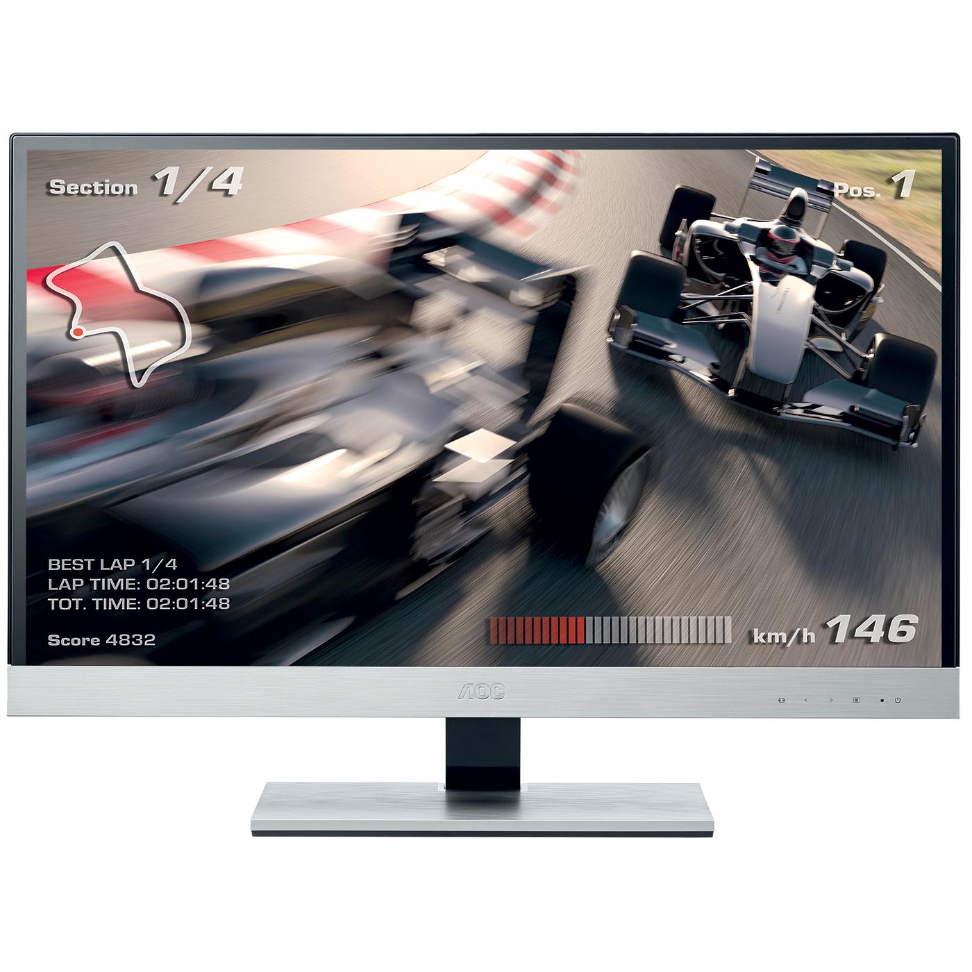Ecran Moniteur IPS 27 pouces AOC i2757Fm 16/9eme (5ms) 2x HDMI/VGA,Informatique Réunion 974