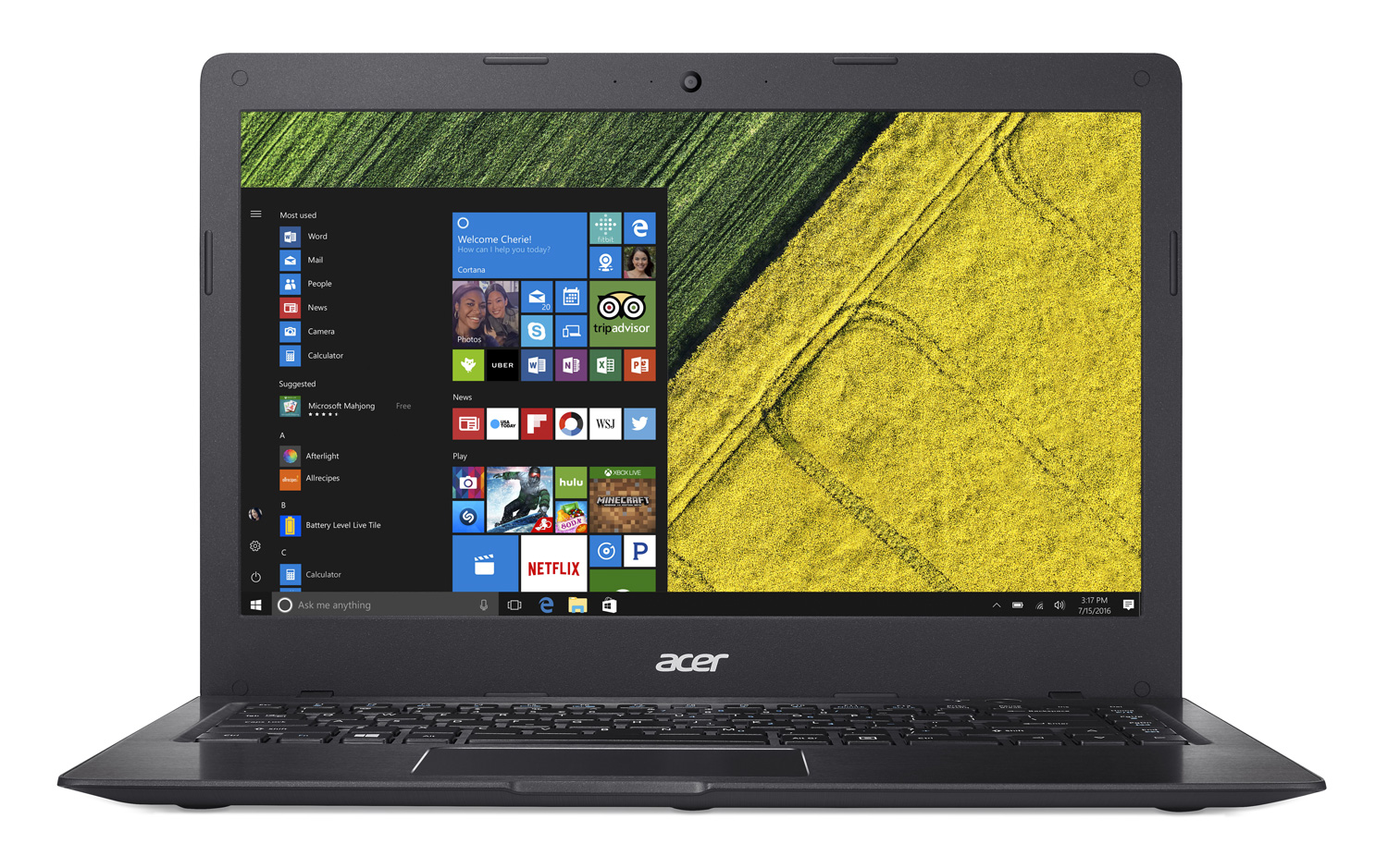 Ordinateur Portable Acer Swift 1, Quad Core N3700, SSD 128Go, 4Go DDR3, 14 pouces LED ,informatique Reunion 974, Futur Réunion informatique