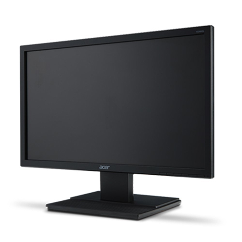 ecran moniteur lcd led 24 pouces acer v246hl 16 9eme full hd 5ms vga dvi. Black Bedroom Furniture Sets. Home Design Ideas