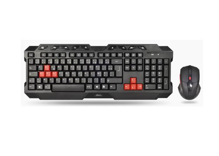 >Ensemble Advance Combo clavier sans fil et souris optique sans fil pour gamer , informatique Reunion, 974, Futur Réunion