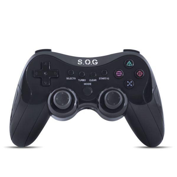 >Manette sans fil Spirit of Gamer Wireless Gamepad pour PC, PlayStation 2 et 3 , informatique Reunion, 974, Futur Réunion