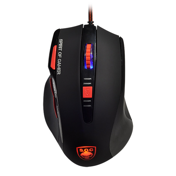 Souris Advance Spirit of Gamer ELITE-M8 + tapis de souris, informatique Reunion, 974, Futur Réunion