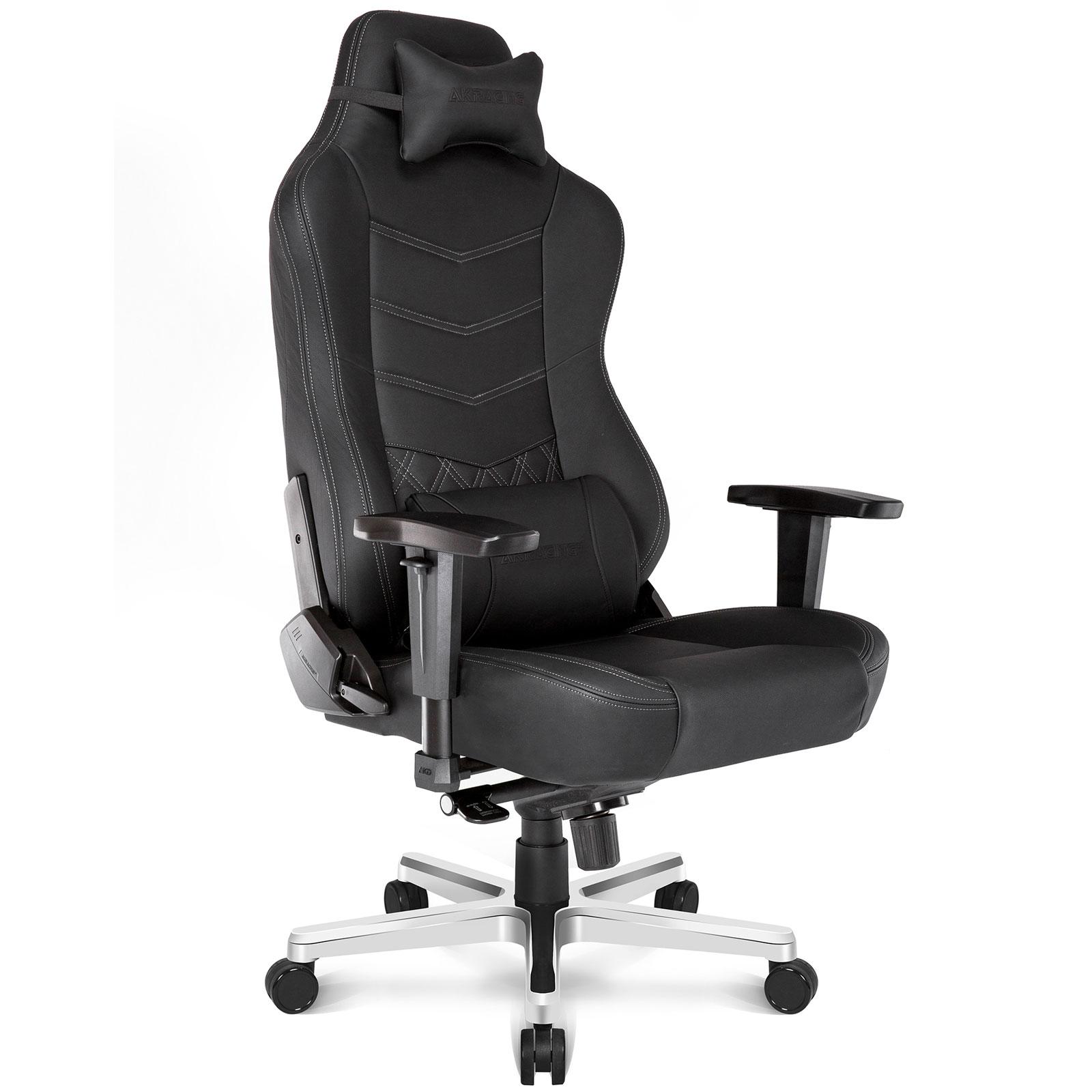 Siège Gamer Akaracing Onyx Deluxe Cuir véritable, fauteuil, siège, siège gamer, informatique 974, informatique ile de la réunion