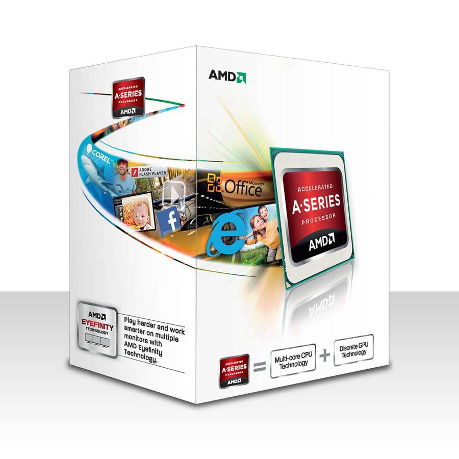 Processeur AMD Dual Core Socket FM2 A4 4020 3.20 GHz (Boîte), informatique ile de la Réunion, informatique-reunion.com