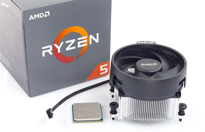 Processeur AMD 6 Core/12 Threads Socket AM4 Ryzen 5 1600 19 Mo (Boîte), informatique ile de la Réunion, informatique-reunion.com