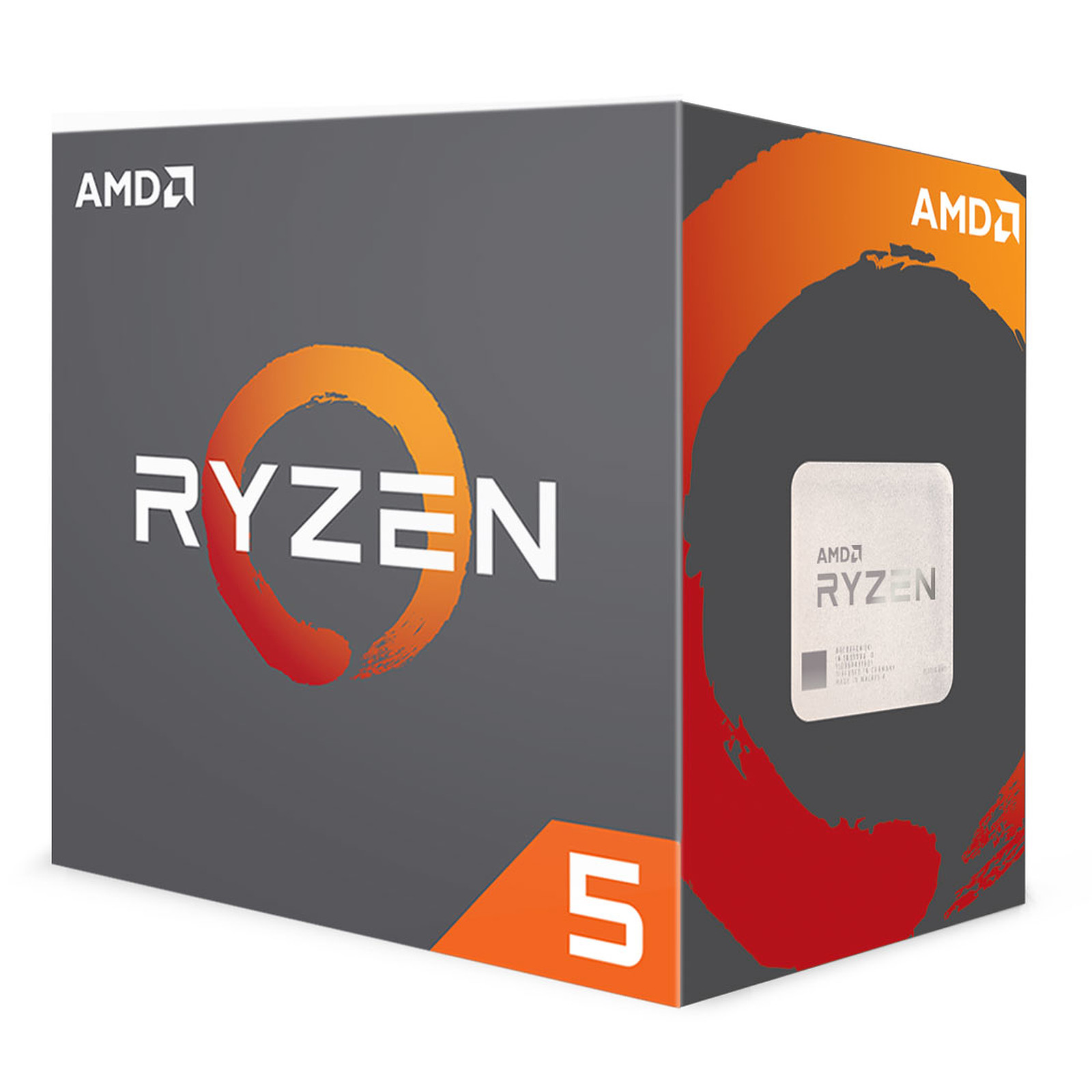 Processeur AMD 6 Core/12 Threads Socket AM4 Ryzen 5 1600X 19 Mo (Boîte), informatique ile de la Réunion, informatique-reunion.com