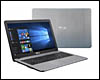 Ordinateur portable Asus X705UA, Intel Pentium N4405U, 4 Go DDR4, 256 Go SSD, 17.3 pouces LED, W10 64bits