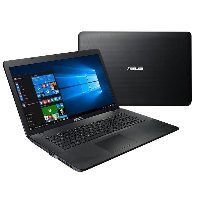 Ordinateur portable Asus X751NA-TY011T 17.3 pouces Leds Windows 10 64bits 4 Coeurs Intel Pentium N3700, informatique Reunion 974, Futur Réunion informatique