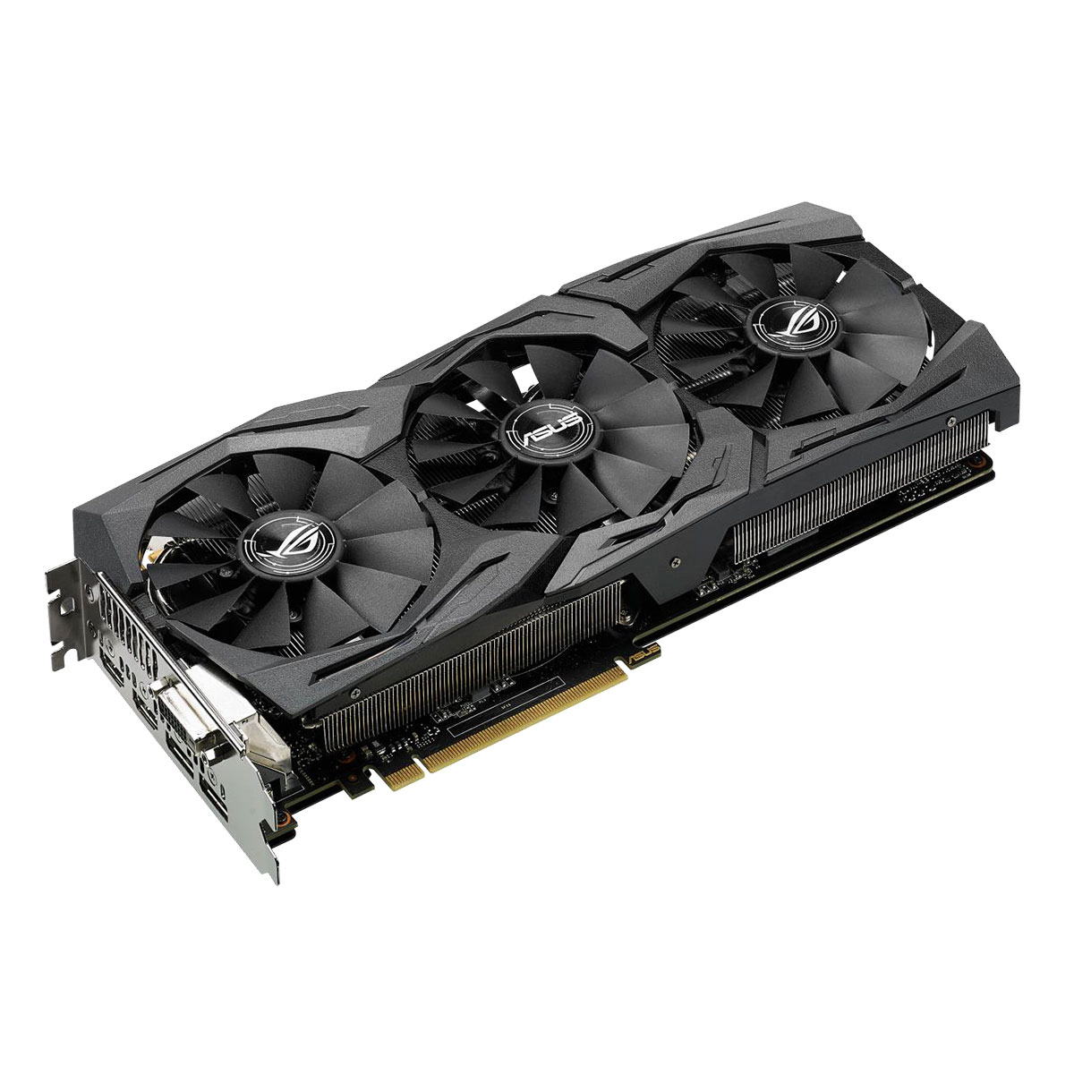 Carte graphique Asus ROG STRIX-GTX1060-6G-GAMING  PCIe 3.0, informatique reunion, informatique ile de la Réunion 974