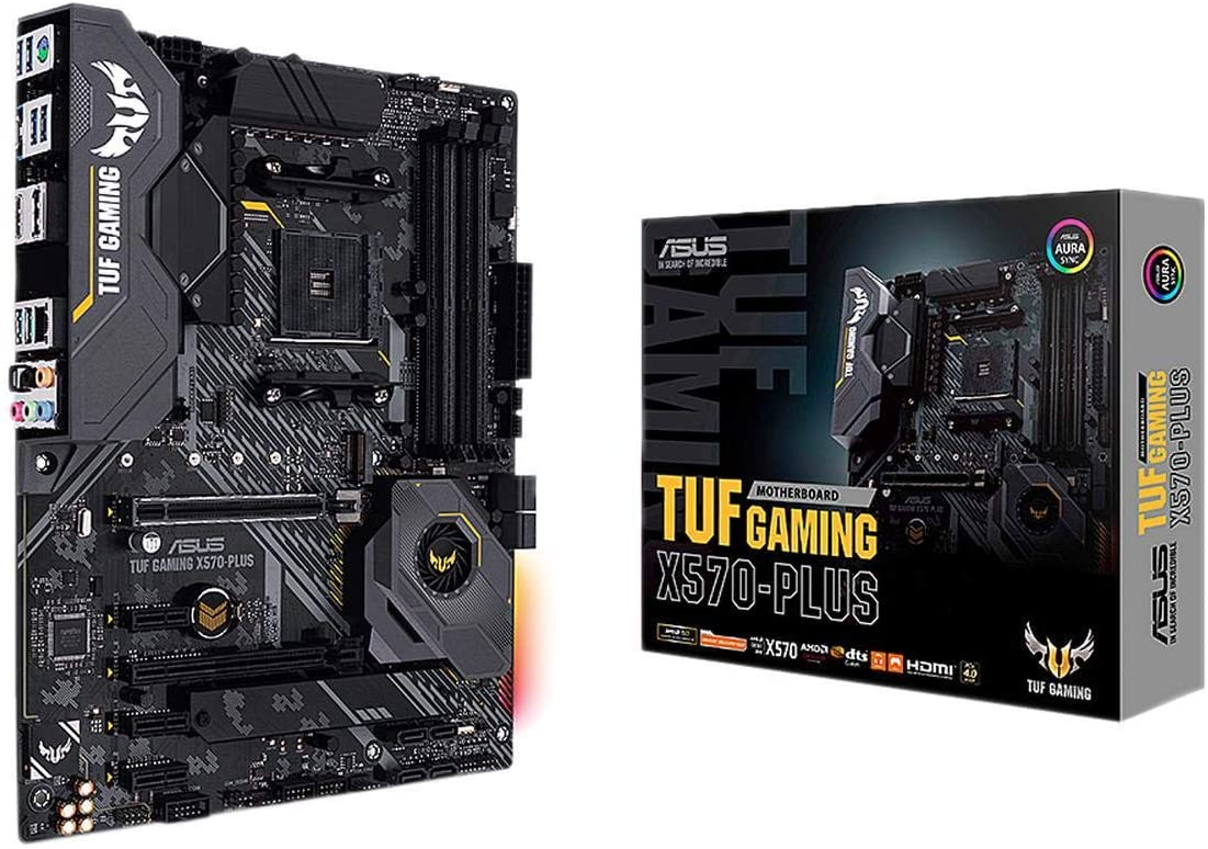 Carte mère Asus TUF GAMING X570-PLUS Socket AM4 (AMD X570) ATX, informatique ile de la Réunion 974