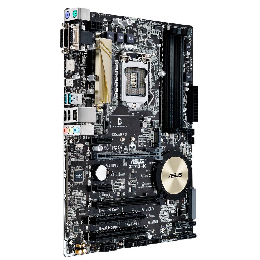 Carte mère Asus Z170-K Socket 1151 (Intel Z170 Express) ATX, informatique ile de la Réunion 974