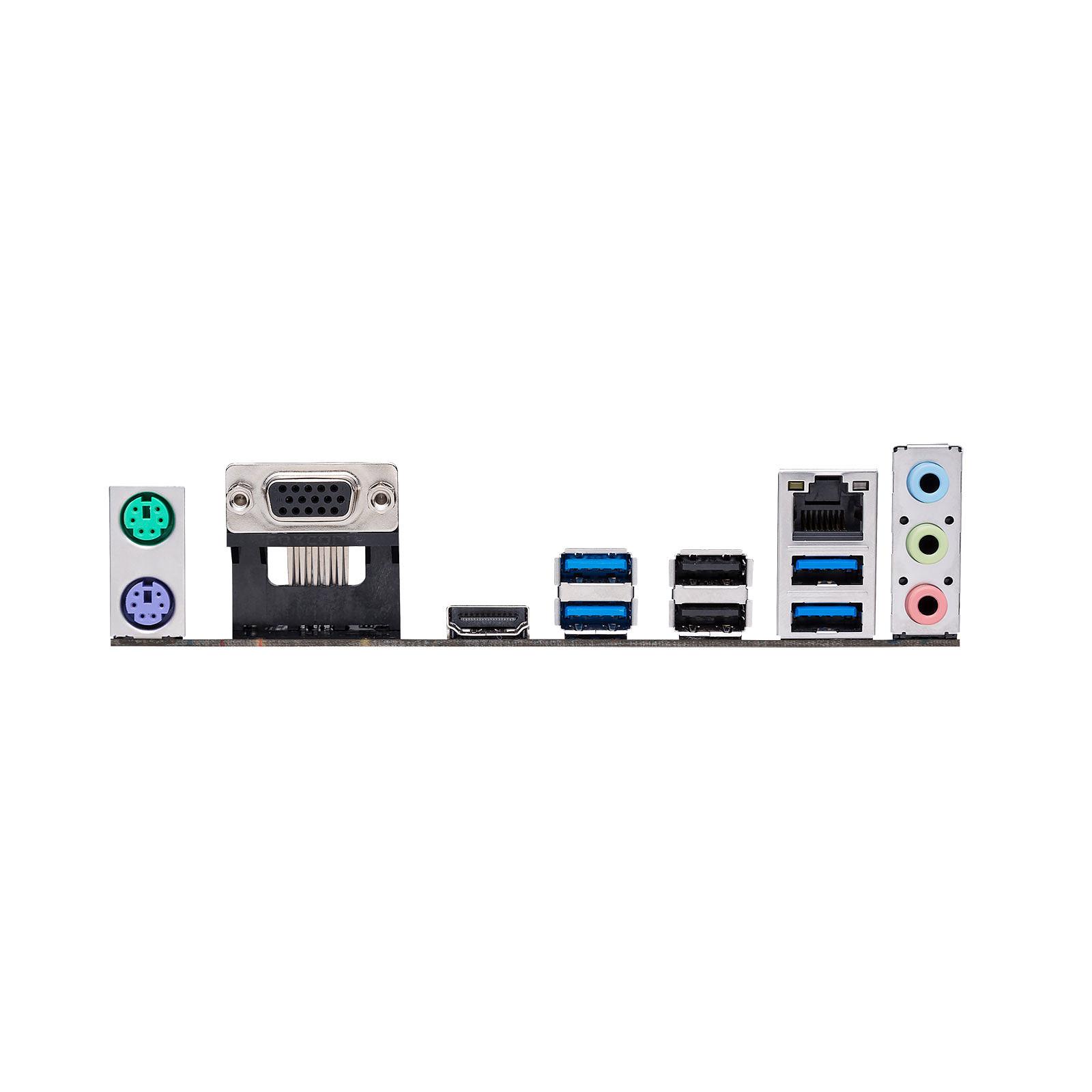 Carte mère Asus Prime A320M-K Socket AM4 (AMD A320) mATX, informatique ile de la Réunion 974