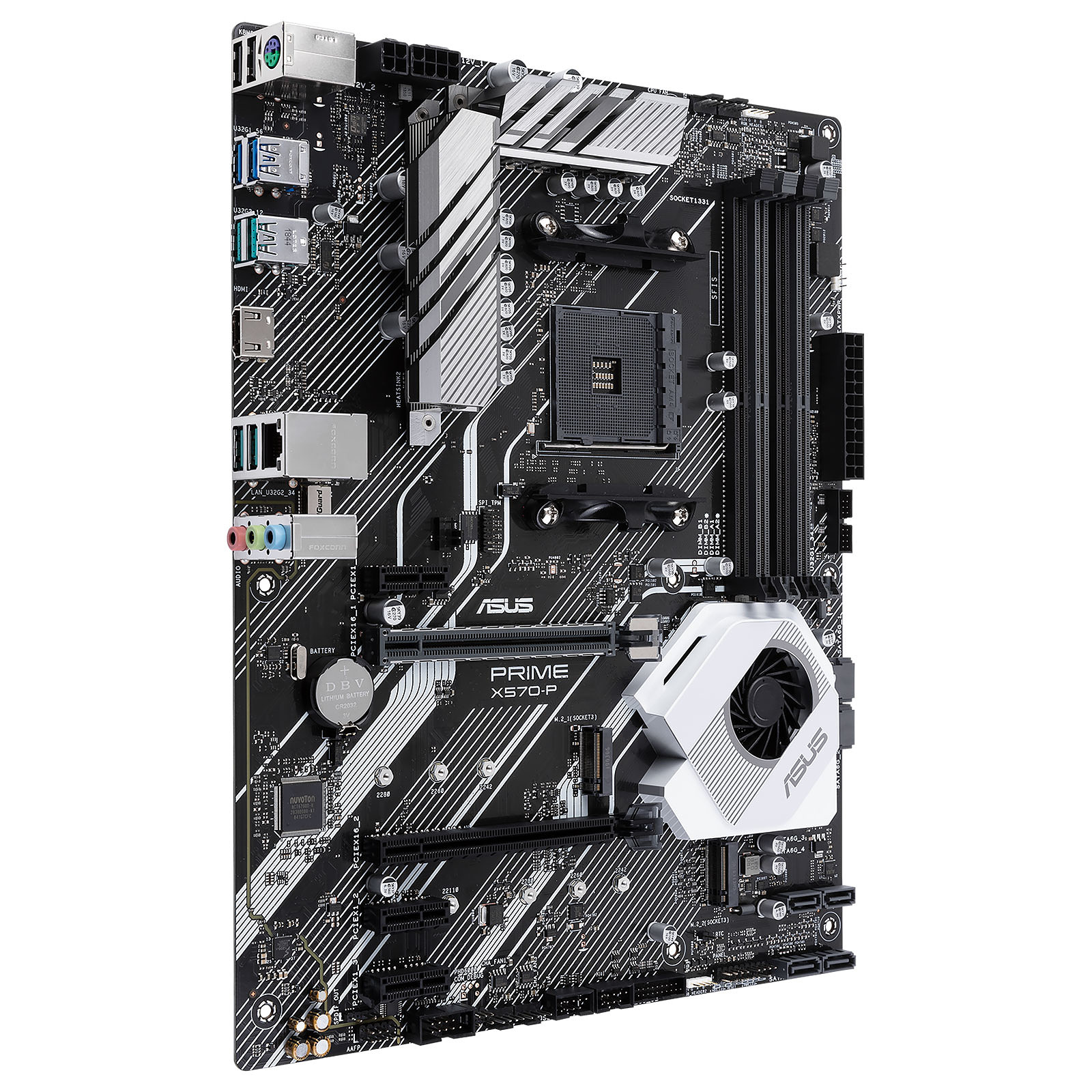 Carte mère Asus X570-P Socket AM4 (AMD X570) ATX, informatique ile de la Réunion 974
