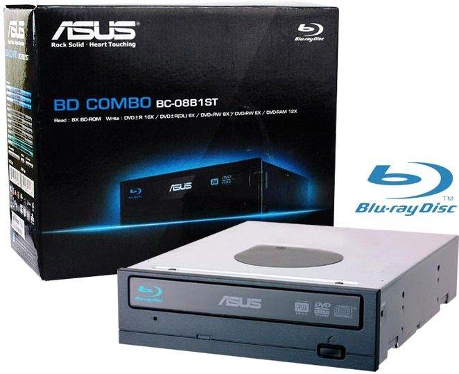graveur de dvd combo lecteur blu ray asus bc 08b1st boite. Black Bedroom Furniture Sets. Home Design Ideas