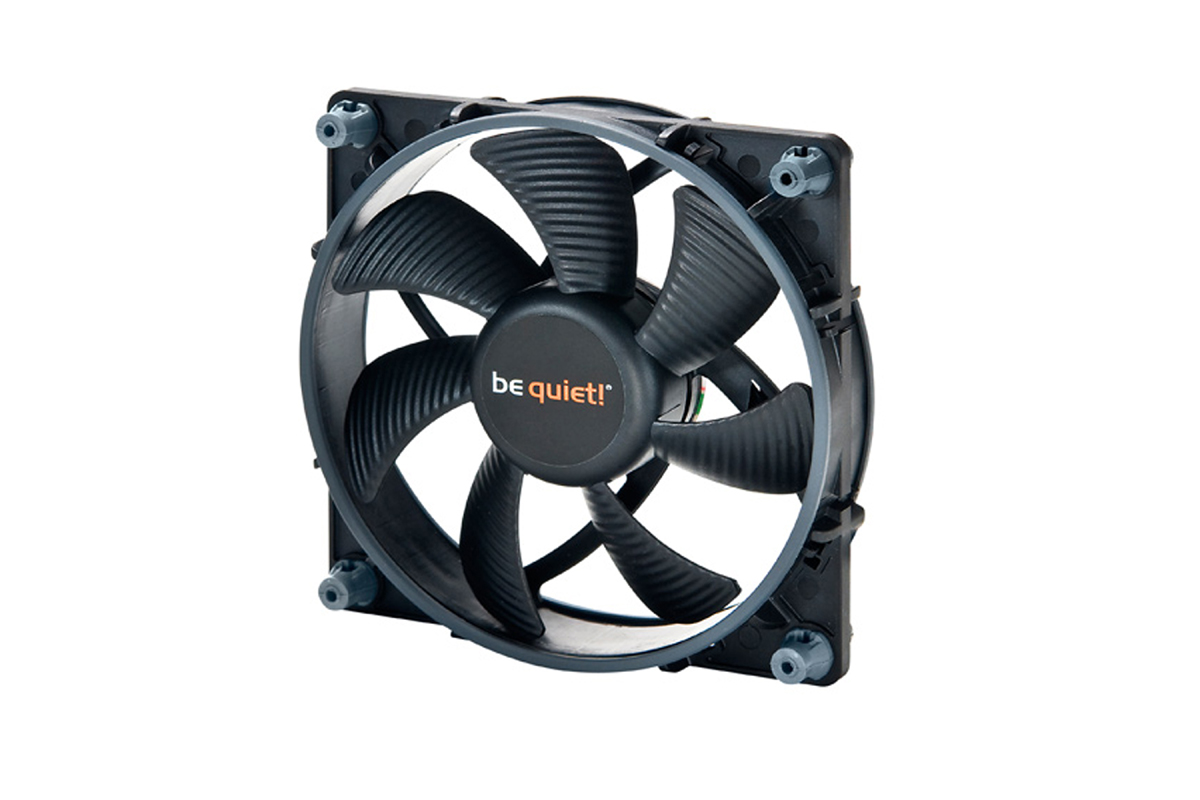 Ventilateur 120 mm pour boitier be quiet! Shadow Wings SW1 120mm mid-speed, informatique ile de la Réunion 974, Futur Réunion Informatique