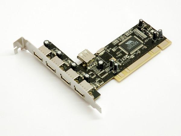Carte PCI contrôleur USB 2.0, informatique ile de la Réunion 974
