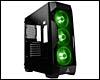 PC ATX, Micro-ATX, Mini-ITX, Boîtier noir tour moyen Antec DF500 RGB avec fenêtre