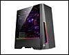 Boîtier PC ATX, Micro-ATX, Mini-ITX, Antec DP501 tour moyenne noir avec fen