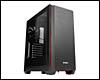 Boîtier PC ATX, Micro-ATX, Mini-ITX, Antec P7 Red tour noir moyen avec fenêtre