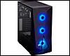 PC ATX, Micro-ATX, Mini-ITX Corsair Carbide SPEC-DELTA RGB boîtier noir avec fenêtre