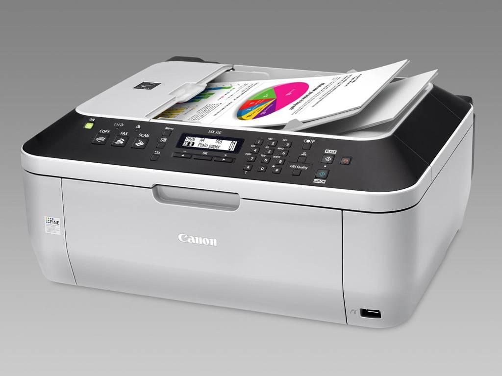 imprimante jet d 39 encre canon pixma mx 320 multifonctions fax. Black Bedroom Furniture Sets. Home Design Ideas