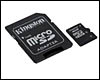 Carte mémoire Kingston micro SDHC 4 Go CL 4 + adaptateur SDHC