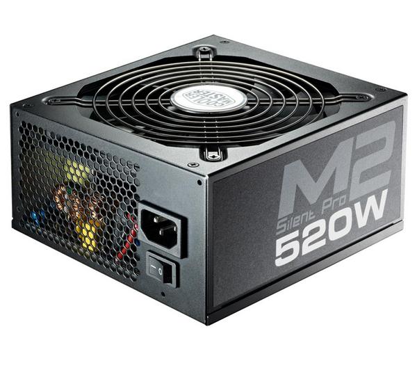Alimentation PC 520W Cooler Master Silent Pro II Modulaire, informatique ile de la Réunion 974, Futur Réunion Informatique