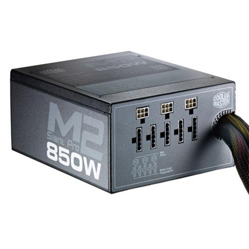 Alimentation PC 850W Cooler Master Silent Pro MII Modulaire, informatique ile de la Réunion 974, Futur Réunion Informatique
