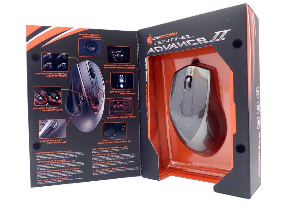 Souris Gamer Cooler Master Storm Sentinel Advance II, informatique Reunion, 974, Futur Réunion