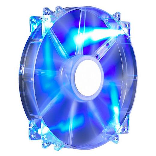 Ventilateur 200 mm pour boitier Cooler Master MegaFlow 200 led bleu, informatique ile de la Réunion 974, Futur Réunion Informatique