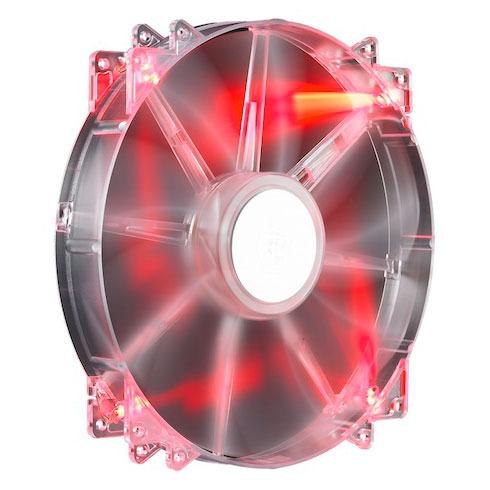 Ventilateur 200 mm pour boitier Cooler Master MegaFlow 200 led rouge, informatique ile de la Réunion 974, Futur Réunion Informatique