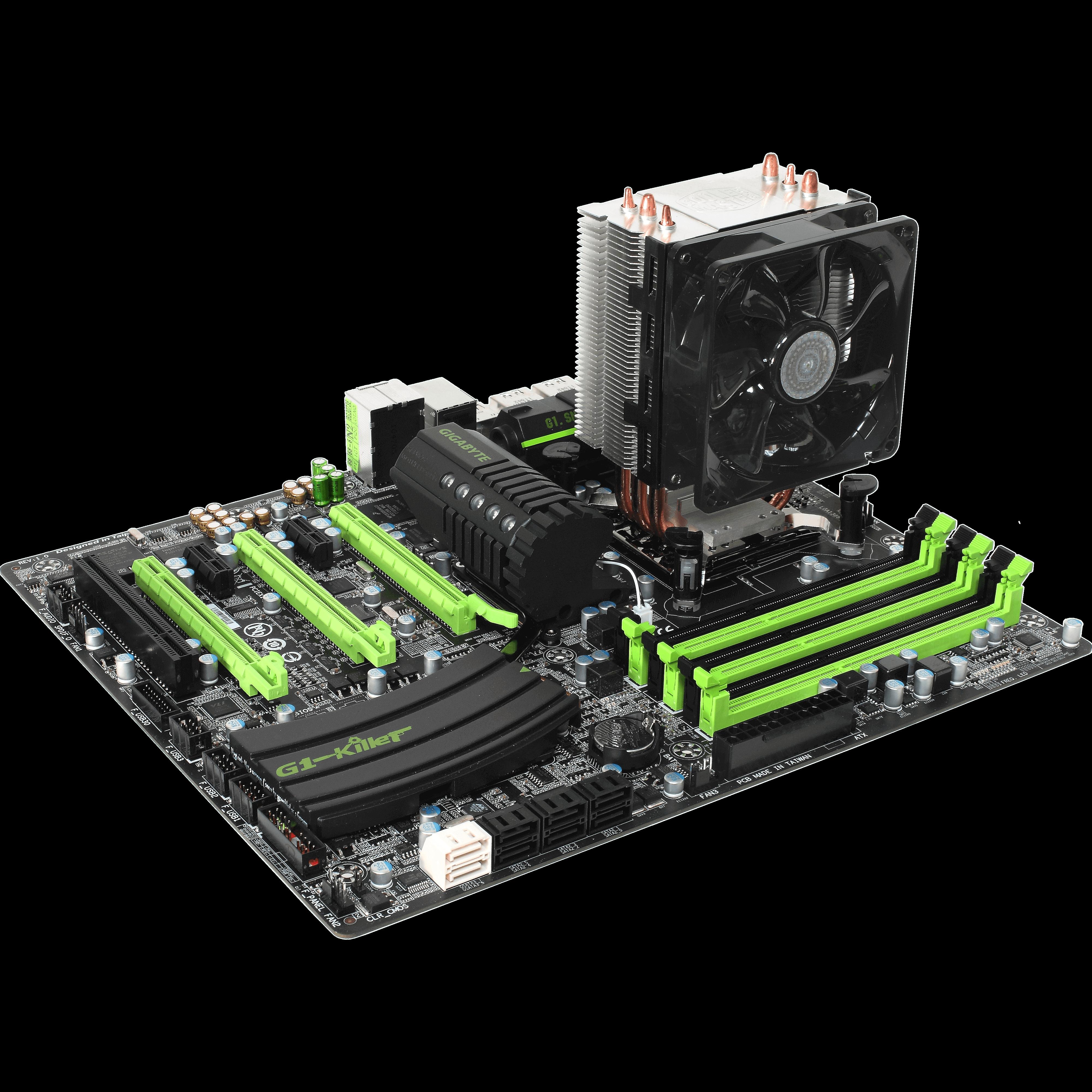 Ventirad Coller Master Hyper TX3 EVO pour processeurs sockets Intel LGA 1366, 1156, 1155, 1151, 1150, 775 et AMD AM4, AM3+, AM3, AM2+, AM2, FM2+, FM2, FM1, informatique Reunion, 974, Futur Réunion