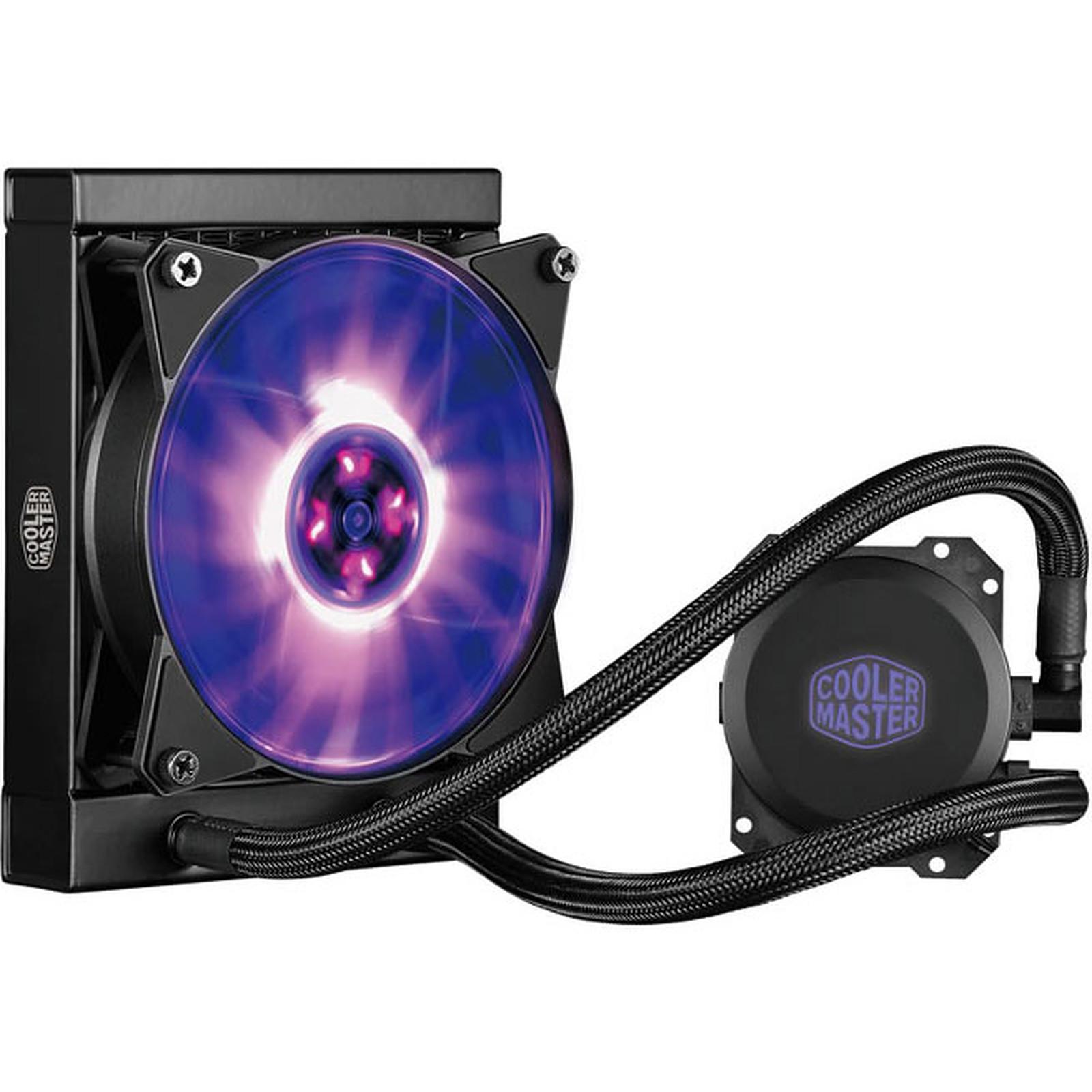 Ventirad Coller Master MasterLiquid ML120L RGB (pour processeurs sockets AMD et Intel), informatique Reunion, 974, Futur Réunion