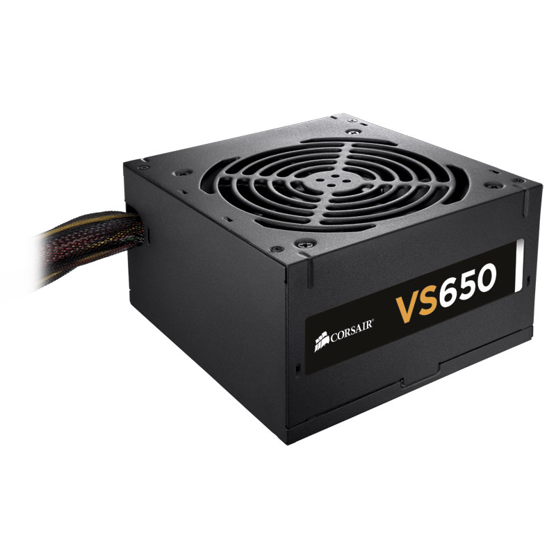 Alimentation PC 650W Corsair VS Series VS650 , informatique ile de la Réunion 974, Futur Réunion Informatique