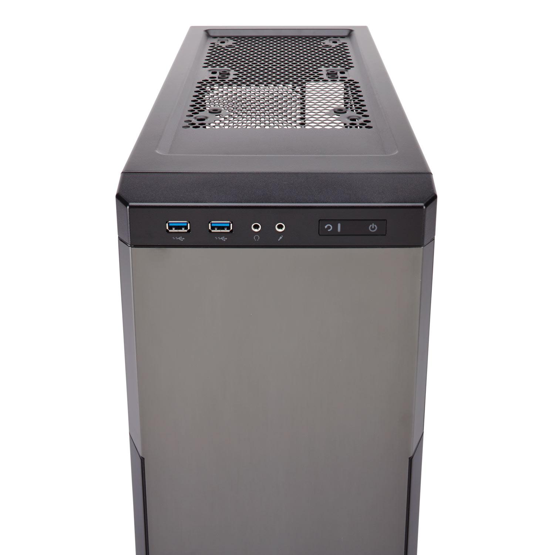 Boitier PC Corsair Carbide Series 330R Titanium (sans alim), informatique ile de la Réunion 974