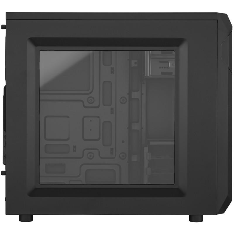 Boitier PC Corsair Carbide Series SPEC-01 Moyen Tour Noir Red LED avec fenêtre (sans alim), informatique ile de la Réunion 974