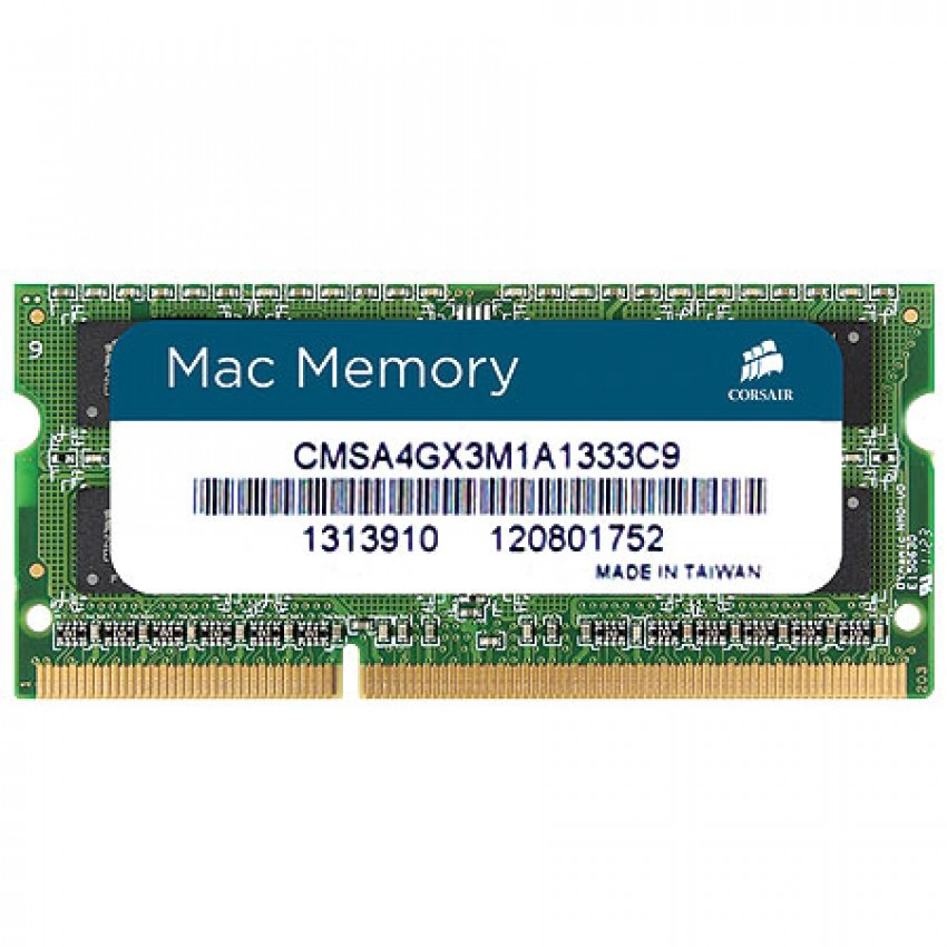 Mémoire So-Dimm Corsair Mac Memory DDR3L 8Go PC12800 1600 MHz CL11 pour Mac et PC, informatique Reunion 974, Futur Réunion informatique