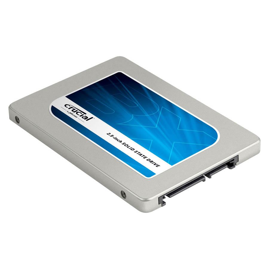 Disque dur SSD Crucial BX100 500 Go 2.5 pouces (7mm) Serial ATA 3 (6Gb/s)s, informatique ile de la Réunion 974
