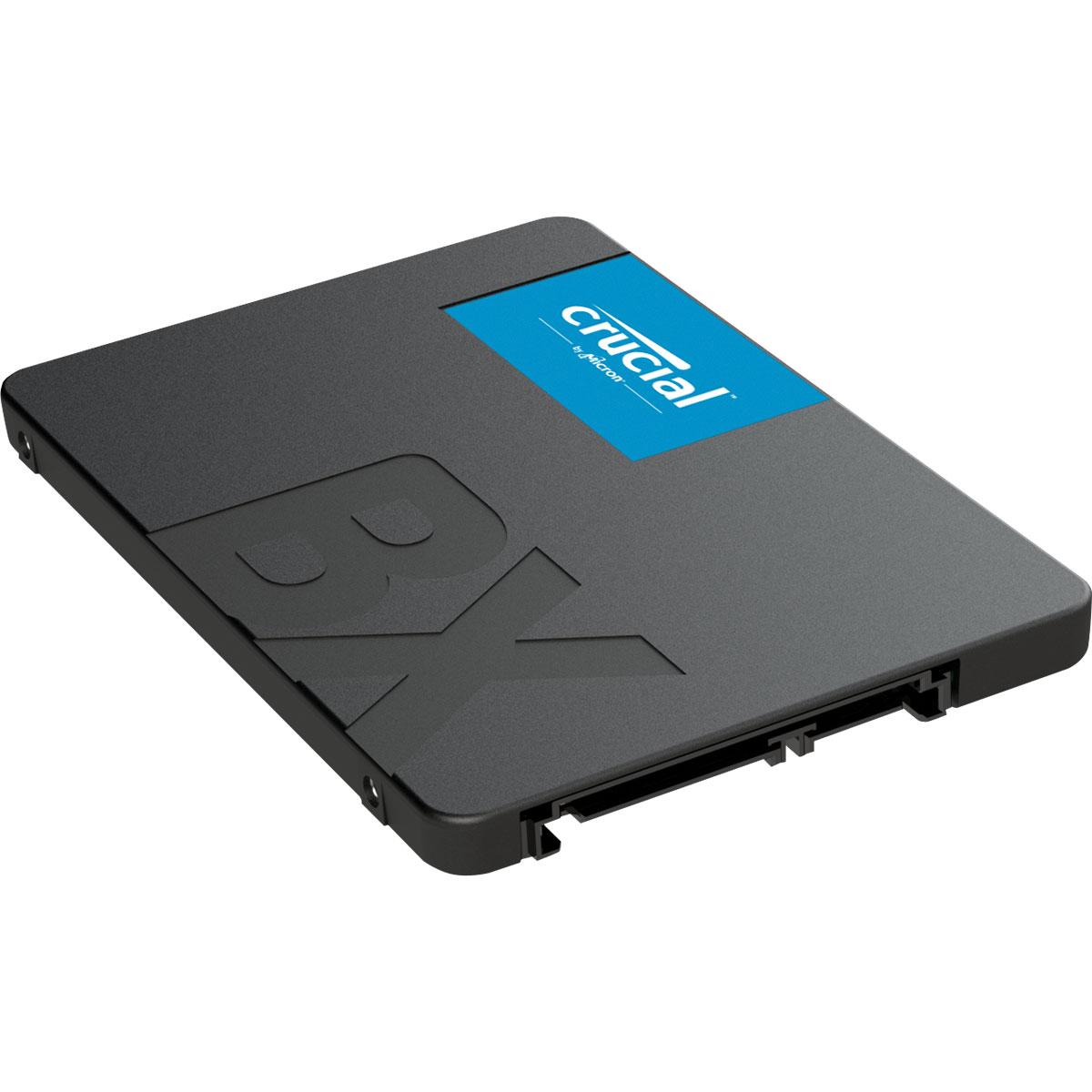 Disque dur SSD Crucial BX500 960 Go 2.5 pouces (7mm) Serial ATA 3 (6Gb/s)s, informatique ile de la Réunion 974