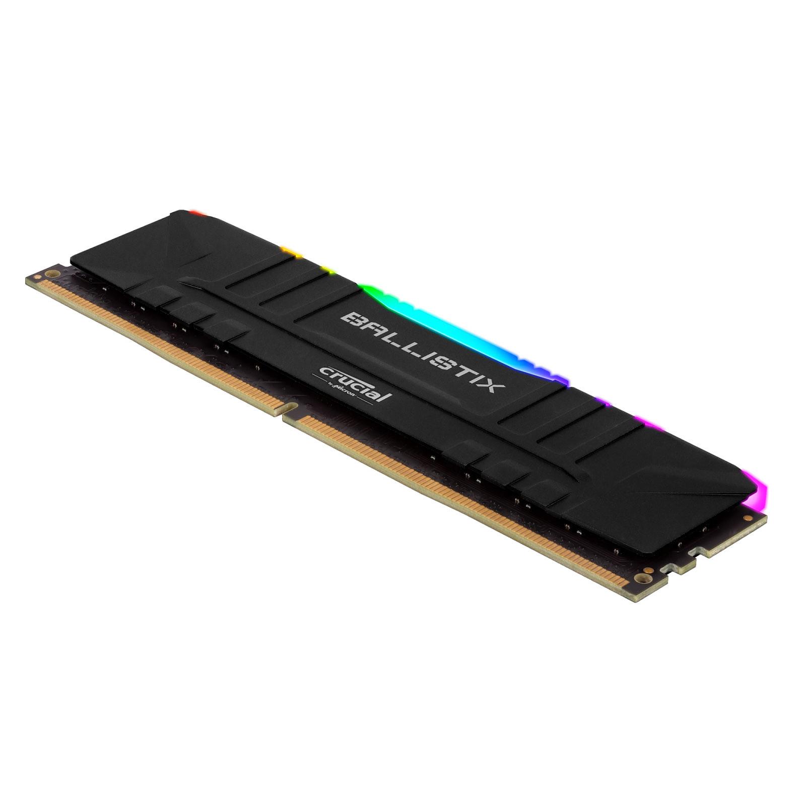 Mémoire Crucial Ballistix Sport Noir RGB 2x 8 Go DDR4 3600 MHz CL16, informatique ile de la Réunion 974