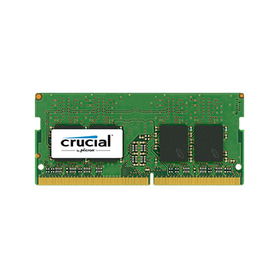 Mémoire So-Dimm Crucial DDR4 8Go PC19200 2400MHz CL17, informatique Reunion 974, Futur Réunion informatique