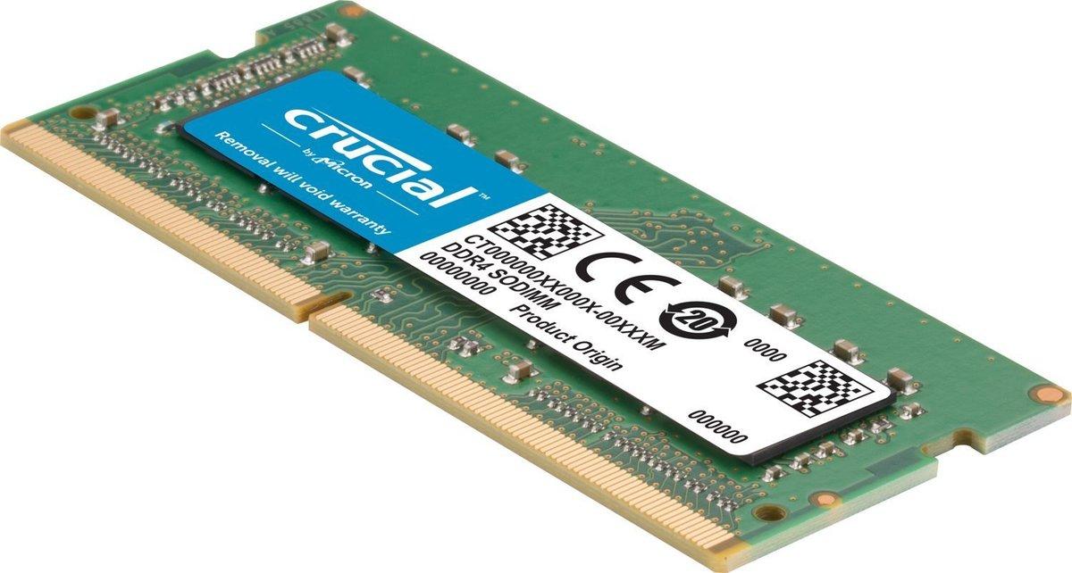 Mémoire So-Dimm Crucial DDR4 16Go PC19200 2400MHz CL17 pour Mac et PC, informatique Reunion 974, Futur Réunion informatique