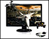 Ecran Moniteur LED 23 Asus VG236H Full HD <b>+KIT 3D Vision Nvid