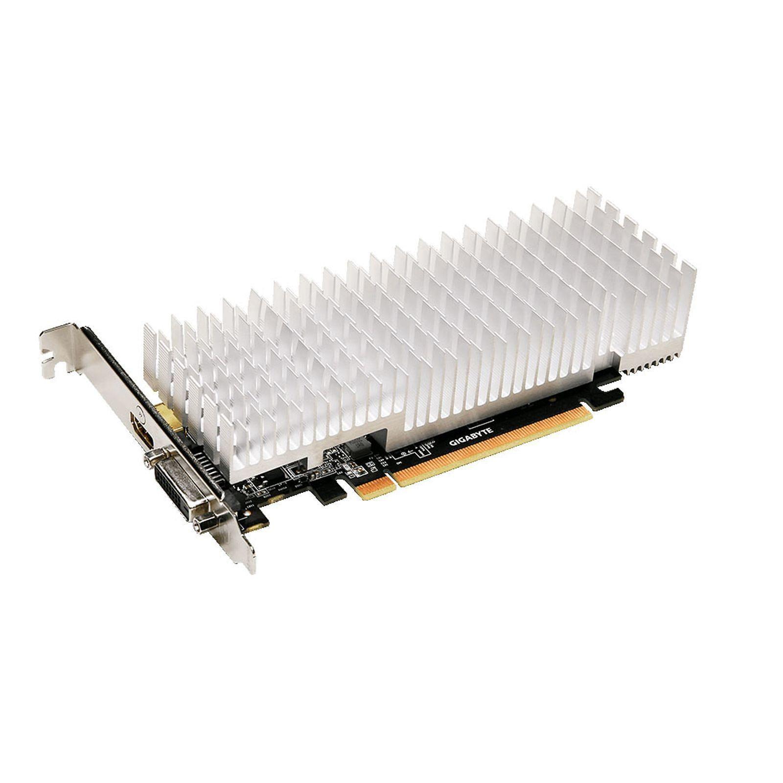 Carte graphique Gigabyte GeForce  1030 GT 2 Go DDR5 PCIe 3.0, informatique reunion, informatique ile de la Réunion 974