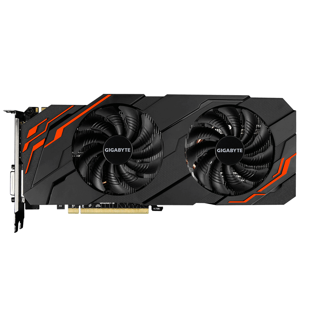 Carte graphique Gigabyte GeForce GTX 1070 WINDFORCE OC 8 Go DDR5 PCIe 3.0, informatique reunion, informatique ile de la Réunion 974
