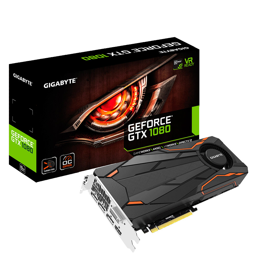 Carte graphique Gigabyte GeForce GTX Turbo OC 8Go DDR5 PCIe 3.0, informatique reunion, informatique ile de la Réunion 974