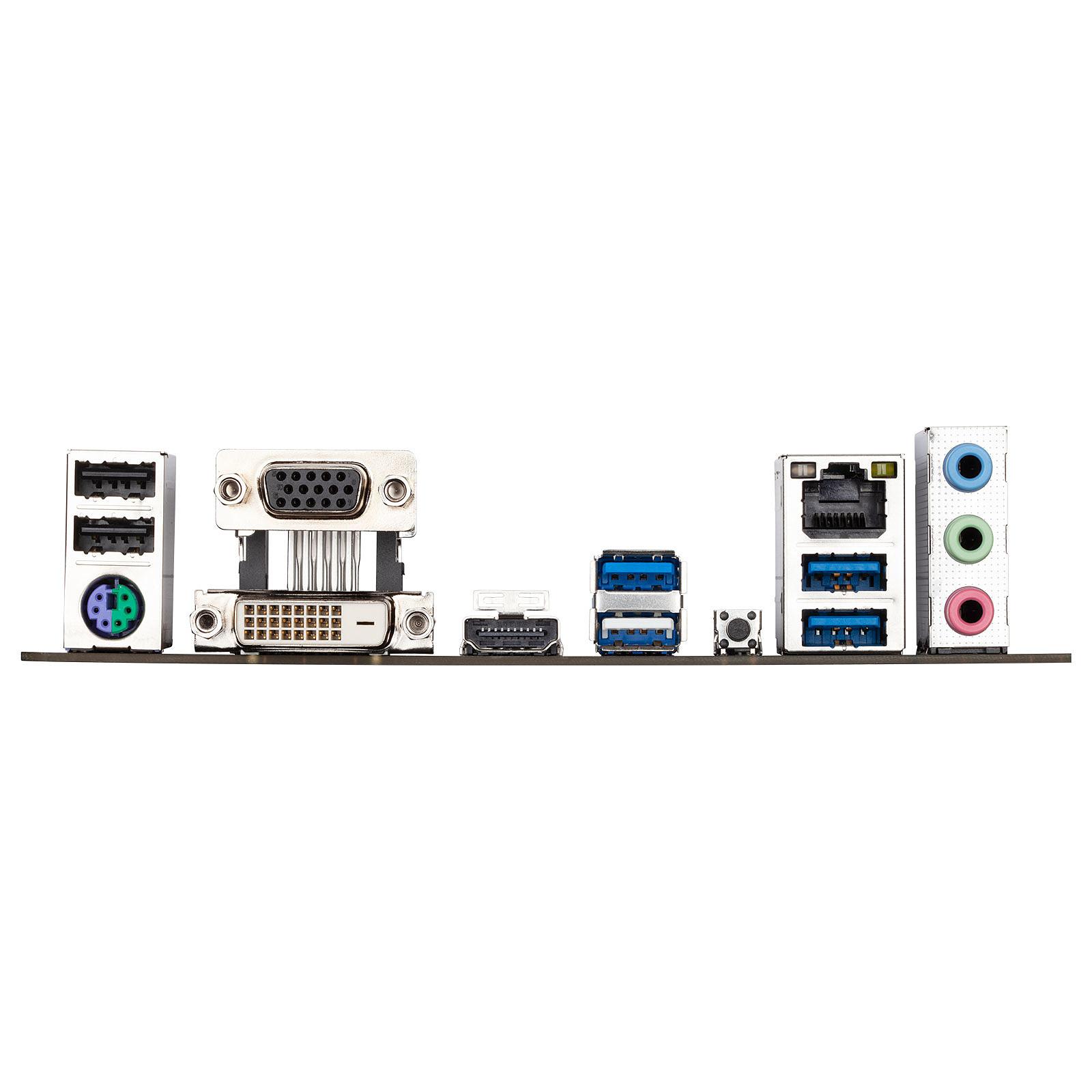 Carte mère Gigabyte B550M S2H Socket AM4 (AMD B550) mATX, informatique ile de la Réunion 974