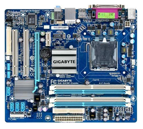 Carte mère Gigabyte GA-G41M-Combo (Intel G41 Express) Socket 775, informatique reunion, informatique ile de la Réunion 974