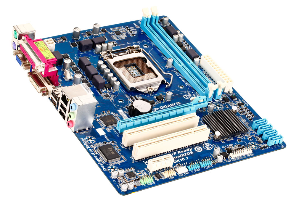 carte m re gigabyte ga h61m s2pv socket 1155 intel h61. Black Bedroom Furniture Sets. Home Design Ideas